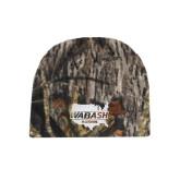 Mossy Oak Camo Fleece Beanie-Wabash