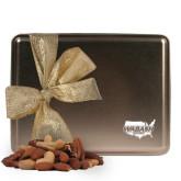 Deluxe Nut Medley Gold Large Tin-Wabash Engraved