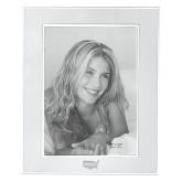 Silver Two Tone 8 x 10 Photo Frame-Wabash Engraved