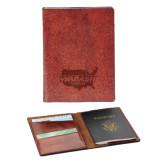 Fabrizio Brown RFID Passport Holder-Wabash Engraved