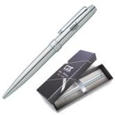 Cutter & Buck Brogue Ballpoint Pen w/Blue Ink-Wabash Engraved