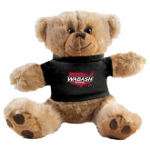 Plush Big Paw 8 1/2 inch Brown Bear w/Black Shirt-Wabash