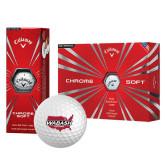 Callaway Chrome Soft Golf Balls 12/pkg-Wabash
