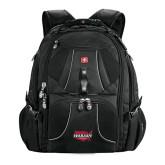 Wenger Swiss Army Mega Black Compu Backpack-Wabash
