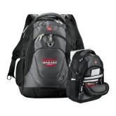 Wenger Swiss Army Tech Charcoal Compu Backpack-Wabash