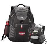 High Sierra Big Wig Black Compu Backpack-Wabash