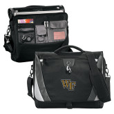 Slope Black/Grey Compu Messenger Bag-WF