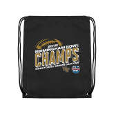 Black Drawstring Backpack-2018 Birmingham Bowl Champs