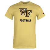 Champion Vegas Gold T Shirt-WF Football
