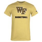 Champion Vegas Gold T Shirt-WF Basketball