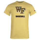 Champion Vegas Gold T Shirt-WF Baseball