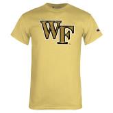 Champion Vegas Gold T Shirt-WF Distressed