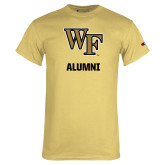 Champion Vegas Gold T Shirt-WF Alumni