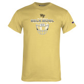 Champion Vegas Gold T Shirt-Belk Bowl - Face Mask Design
