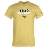 Champion Vegas Gold T Shirt-Belk Bowl - Helmets Design
