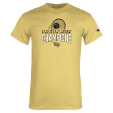 Champion Vegas Gold T Shirt-2018 Mens Tennis Champions