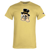 Champion Vegas Gold T Shirt-Deacon Head