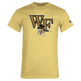Champion Vegas Gold T Shirt-WF w/ Deacon Head