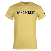 Champion Vegas Gold T Shirt-Wake Forest