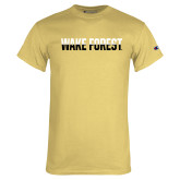 Champion Vegas Gold T Shirt-Wake Forest Two Tone