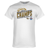 White T Shirt-2018 Birmingham Bowl Champs