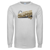 White Long Sleeve T Shirt-2018 Mens Tennis Champions