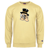 Champion Vegas Gold Fleece Crew-Deacon Head