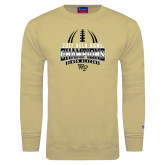 Champion Vegas Gold Fleece Crew-2017 Belk Bowl Champions - Football Stacked