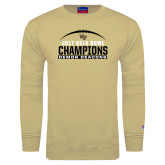Champion Vegas Gold Fleece Crew-2017 Belk Bowl Champions - Football Arched