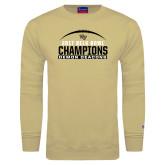 Champion Vegas Gold Fleece Crew-2017 Belk Bowl Champions - Football Arched