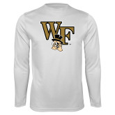 Syntrel Performance White Longsleeve Shirt-WF w/ Deacon Head