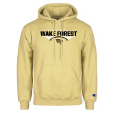 Champion Vegas Gold Fleece Hoodie-Football Wing Design