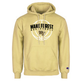 Champion Vegas Gold Fleece Hoodie-Arched Wake Forest in Basketball