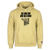 Champion Vegas Gold Fleece Hoodie-Basketball Net Design