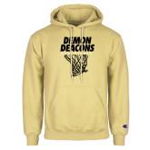 Champion Vegas Gold Fleece Hoodie-Basketball Net Design