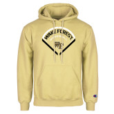 Champion Vegas Gold Fleece Hoodie-Baseball Plate Design