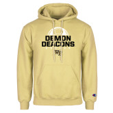 Champion Vegas Gold Fleece Hoodie-Stacked Soccer Design