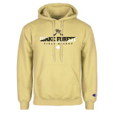 Champion Vegas Gold Fleece Hoodie-Stacked Field Hockey Design
