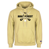 Champion Vegas Gold Fleece Hoodie-Field Hockey Design
