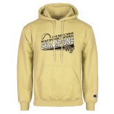 Champion Vegas Gold Fleece Hoodie-2018 Mens Tennis Champions