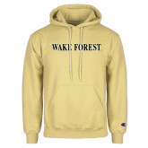 Champion Vegas Gold Fleece Hoodie-Wake Forest