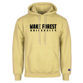 Champion Vegas Gold Fleece Hoodie-Wake Forest University