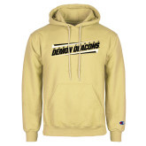 Champion Vegas Gold Fleece Hoodie-Slanted Wake Forest Demon Deacons