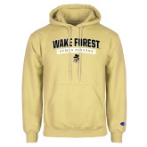 Champion Vegas Gold Fleece Hoodie-Arched Wake Forest Demon Deacons