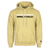 Champion Vegas Gold Fleece Hoodie-Wake Forest Two Tone