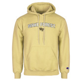 Champion Vegas Gold Fleece Hoodie-Arched Wake Forest w/ WF