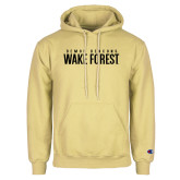 Champion Vegas Gold Fleece Hoodie-Stacked Demon Deacons Wake Forest