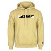 Champion Vegas Gold Fleece Hoodie-Diagonal Two Tone Wake Forest