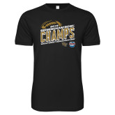 Next Level SoftStyle Black T Shirt-2018 Birmingham Bowl Champs