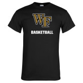 Black T Shirt-WF Basketball